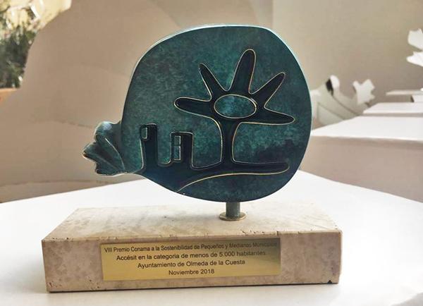 Nota Olmeda Premio Sostenibilidad