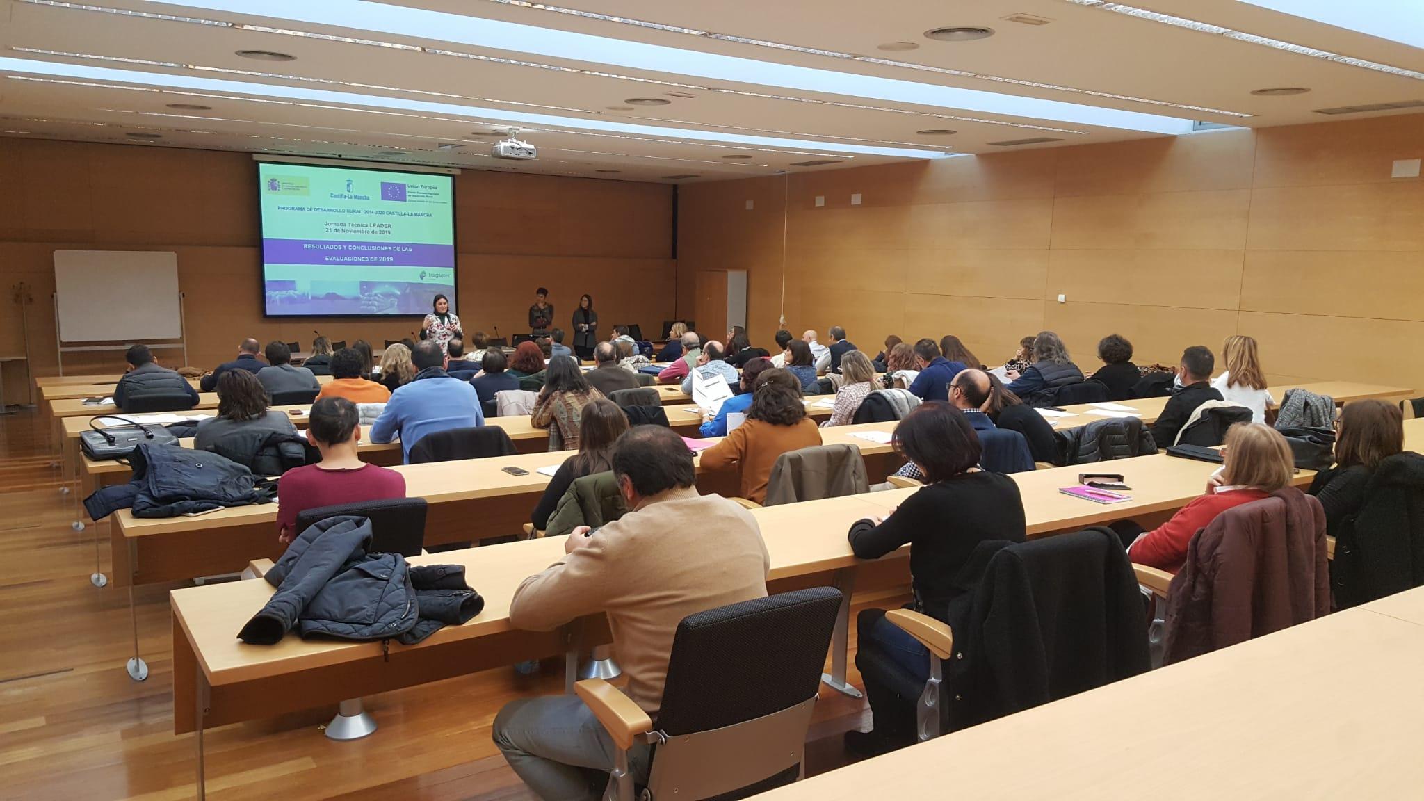 Técnicos, gerentes y presidentes de los Grupos de Acción Local de Castilla-La Mancha participan en una jornada en Toledo